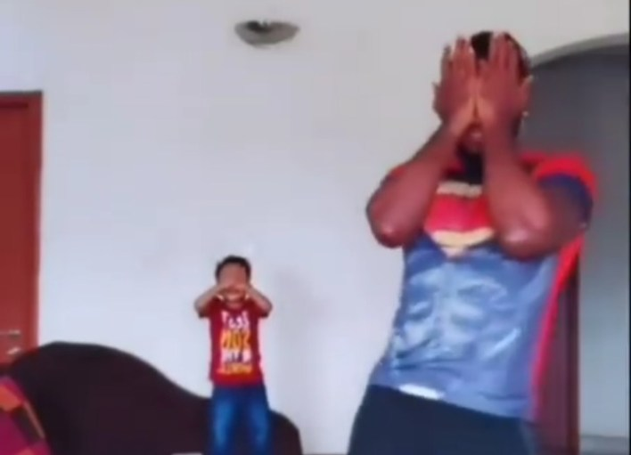 Praise and his Son Celebrate Erica's Birthday With Special Dance [Video]
