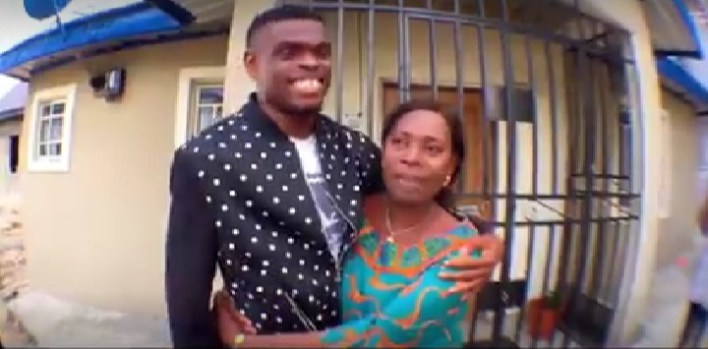 MC Aproko Gives His Mother Delightful Surprise As He Drives To PH [Video]