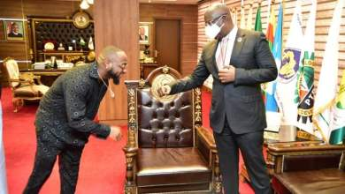 Davido Meets Energy Chief, Timipre Sylva Share Ideas on Youth Empowerment