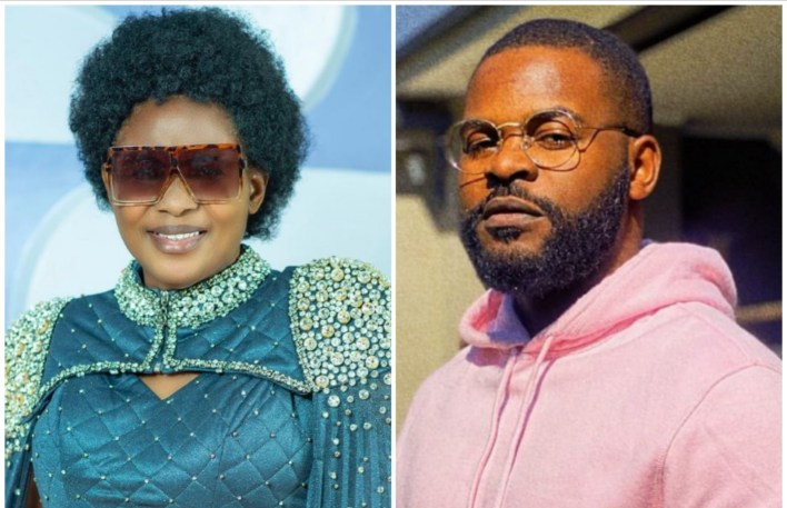 Falz Showcases His Young Mother as She Celebrates Her Birthday