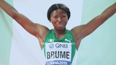 Ese Brume Sets New African Record in Long Jump
