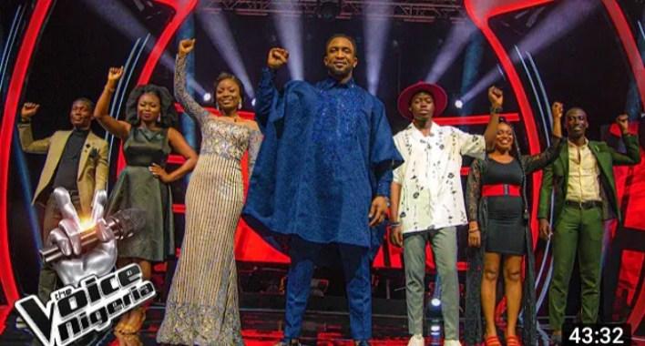 The Voice Nigeria Final Knockouts, Waje and Falz Steal Darey's Talents