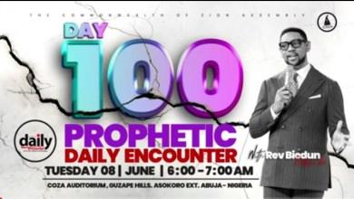 Daily Prophetic Encounter June 8 2021 With Rev Biodun Fatoyinbo