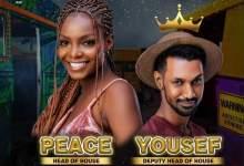 BBNaija 2021 Peace emerges first HoH, Picks Yousef as Deputy