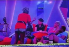 BBNaija Angel and Whitemoney Taking The Lead in Fight [Video]