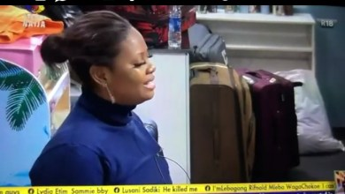 BBNaija Tega Falls in Love With Pere and Boma, Remembers She's Married [Video]