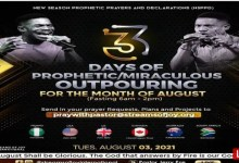 Pastor Jerry Eze Prophetic Prayers 3 August 2021 Join NSPPD
