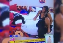 BBNaija 2021 Angel Goes Raw Again Plays With Her Private Part