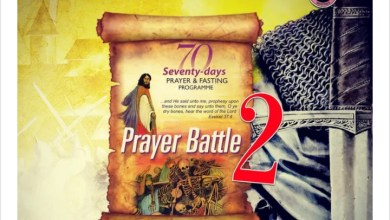 MFM 70 Days Prayers and Fasting 17 October 2021 - Day 70