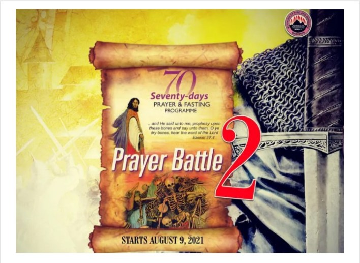 MFM 70 Days Prayers and Fasting 19 September 2021 - Day 42