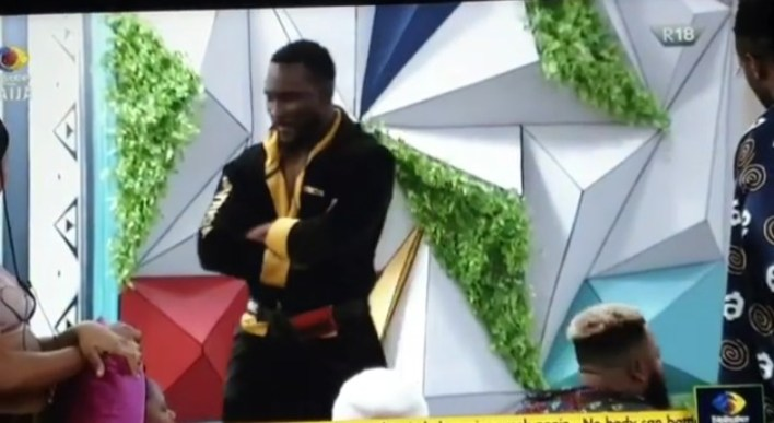 BBNaija Pere Says Cooking is Whitemoney's Strategy, As Fans react