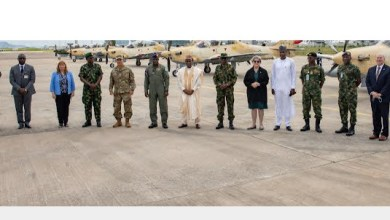 U.S.-made A-29 Super Tucano Aircraft Inducted into NigerianAir Force