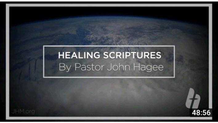 Live John Hagee New Month Healing Scriptures 1 September 2021