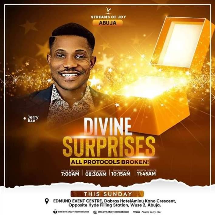 Live Jerry Eze Sunday Services 19 September 2021 - Divine Surprises