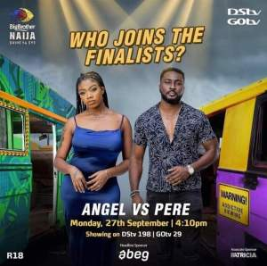 BBNaija Pere and Angel Play Double Jeopardy Game at 4.10pm