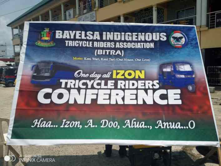Bayelsa Indigenous Tricycle Riders Opens New Office in Yenagoa