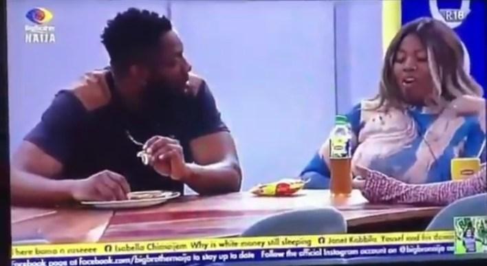 BBNaija Cross Falls in Love With Angel While Tega and Boma Denies
