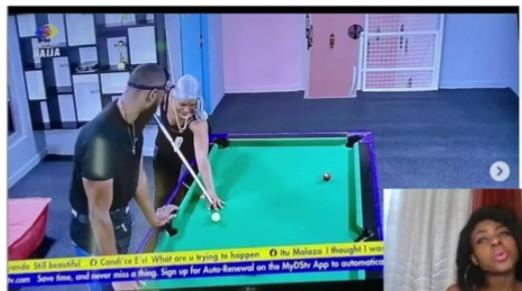 BBNaija Liquorose Shares Loving Moments With Emmanuel, Plays Pool