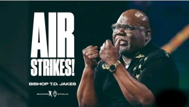 Live Daily Teaching TD Jakes 2nd September 2021 |AIR STRIKES|