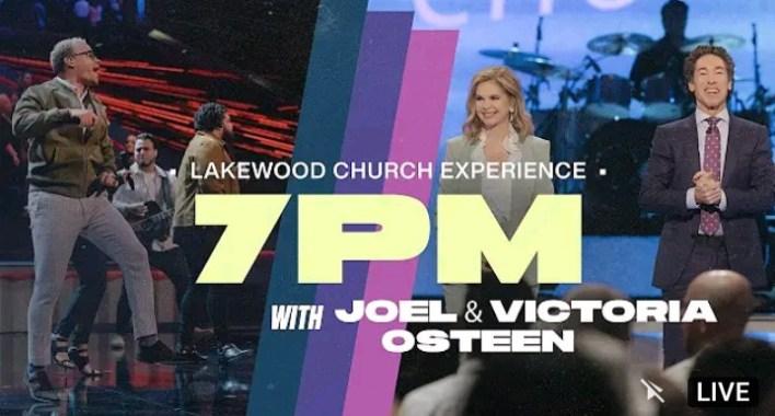 Live Joel Osteen 4th September 2021 Saturday Night Service @7pm