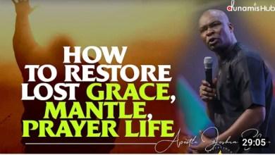 Apostle Joshua Selman Daily Sermon 11 September 2021  How to Restore 