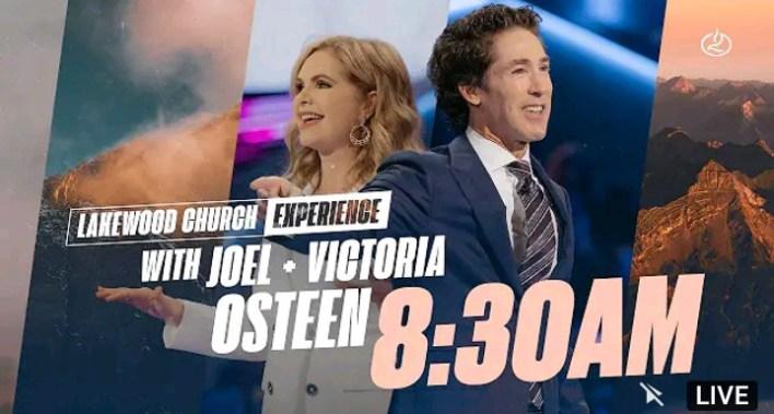 Live 8.30am Joel Osteen Sunday Service 12 September 2021 - Lakewood Church