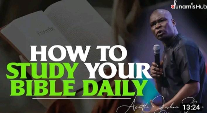 Joshua Selman Daily Sermons 16 September 2021 - DailyBible Study