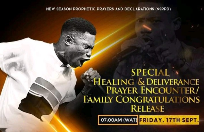 Live NSPPD Prophetic Prayers Jerry Eze 17 September 2021 - Fire of God