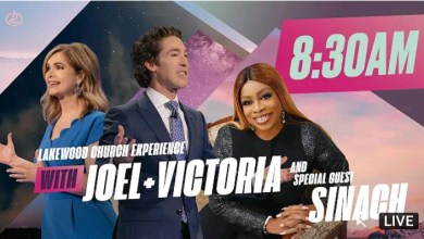 Live Joel Osteen 8.30am Sunday Service 26 September 2021 With Sinach