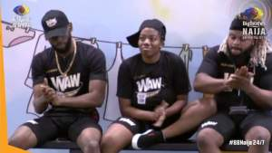 BBNaija Angel Tries to Seduce Emmanuel During WAW Challenge