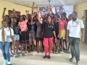 JPF Kick-Off Digital Skills Training for Teenage Girls in Famgbe