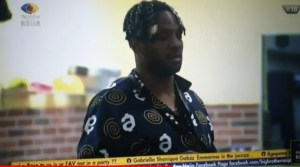 BBNaija Cross Breaks Up With Angel After Pre-Independence Dinner