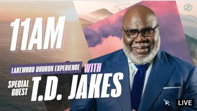 Live 11am Joel Osteen Sunday Service 17 October 2021 - TD Jakes
