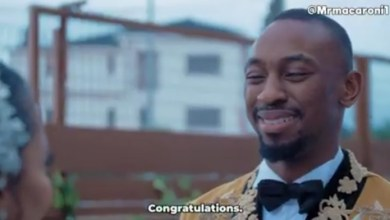 BBNaija Saga and Nini Features in Mr Macaroni Skits - The Wedding