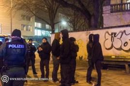 Neonazis am Goetheplatz versuchen die Kundgebung zu stören