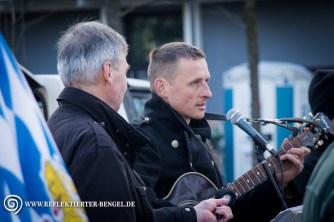 Links: Roland Wuttke (NPD Funktionär, Die Rechte, Der III. Weg), Rechts: Axel Schlimper (Europäische Aktion)
