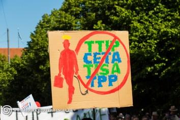 04.06.15 München - Stop G7 Demo