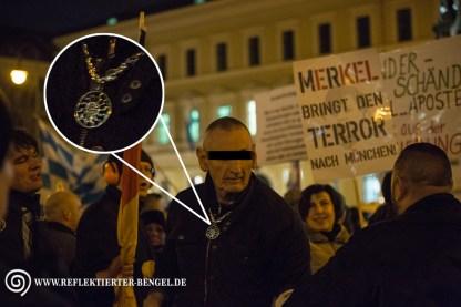 21.03.16 München - Pegida München u. Gegenproteste, Peter Meidl
