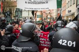 09.04.16 Ingolstadt - Der III. Weg Demonstration