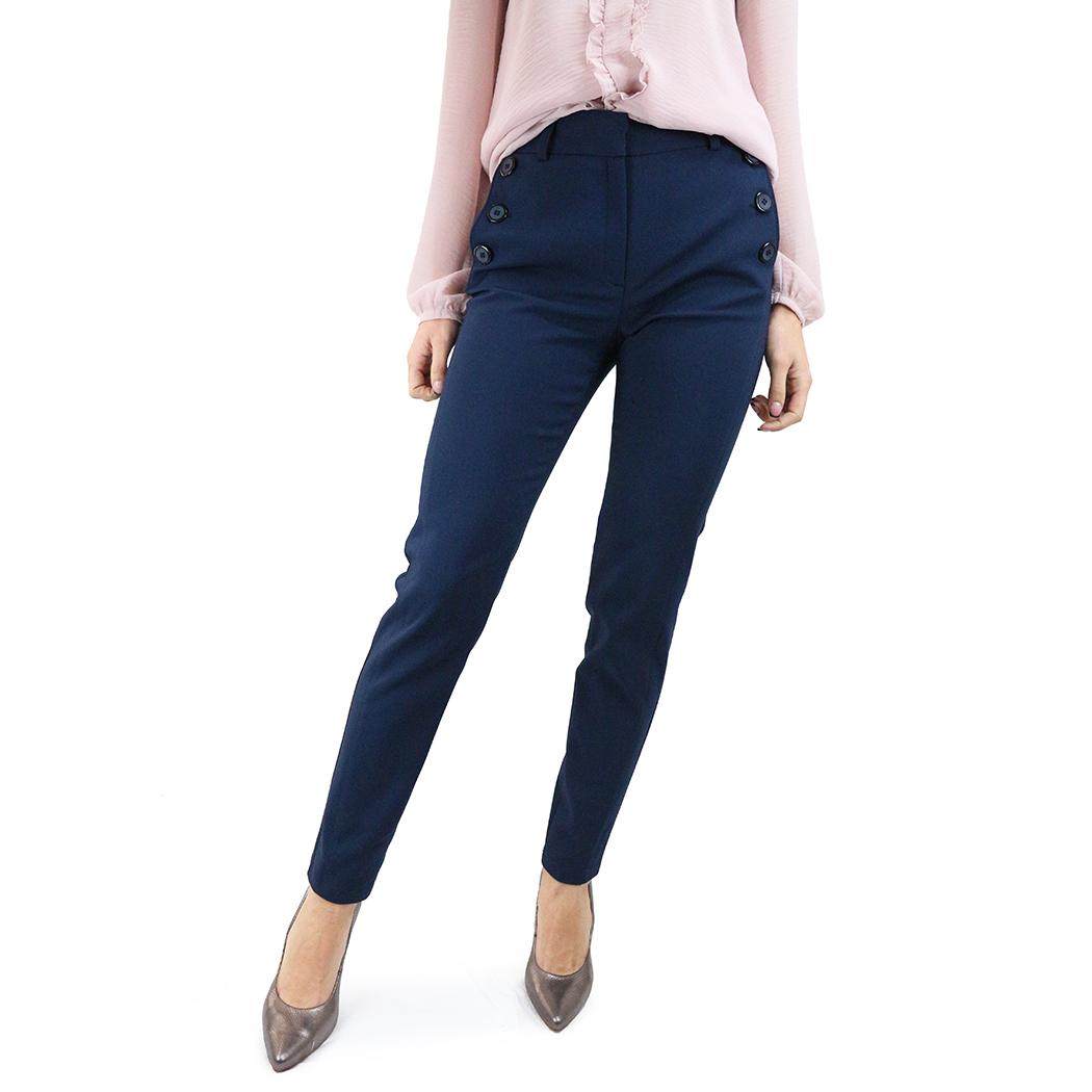 Pantaloni Caramel Bleumarin