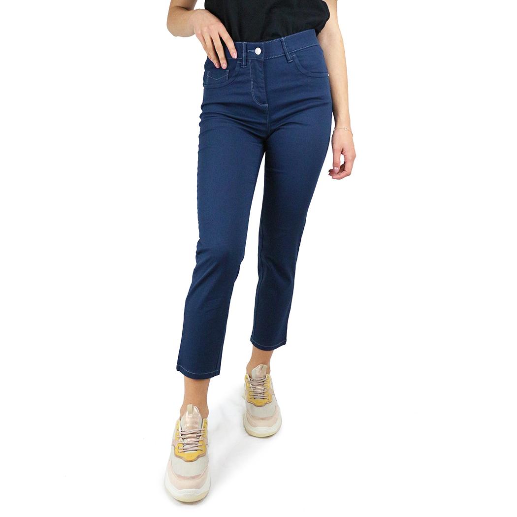 Pantaloni Virginia Blu Negri