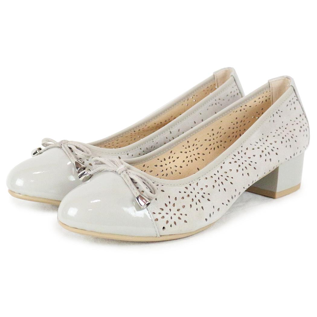 Pantofi Caprice Crem