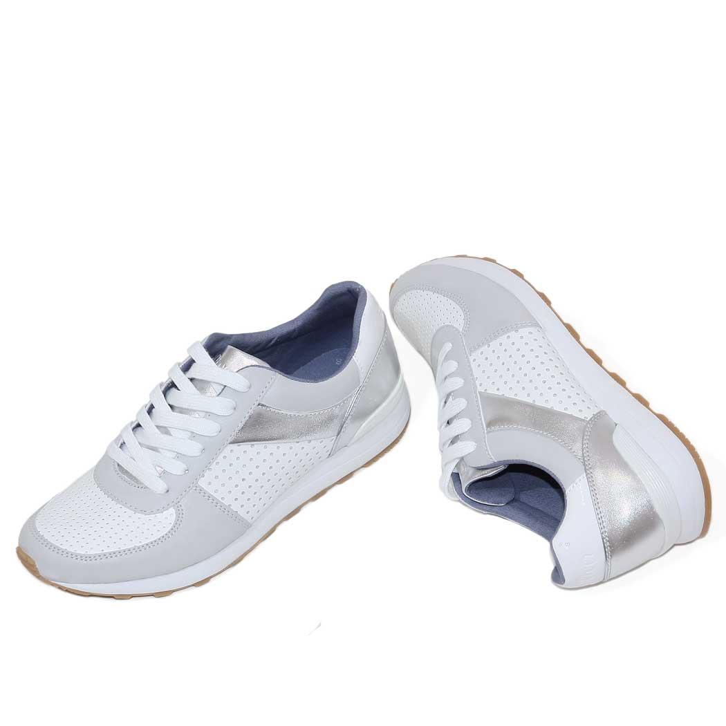 Pantofi Sport s.Oliver Albi/Gri