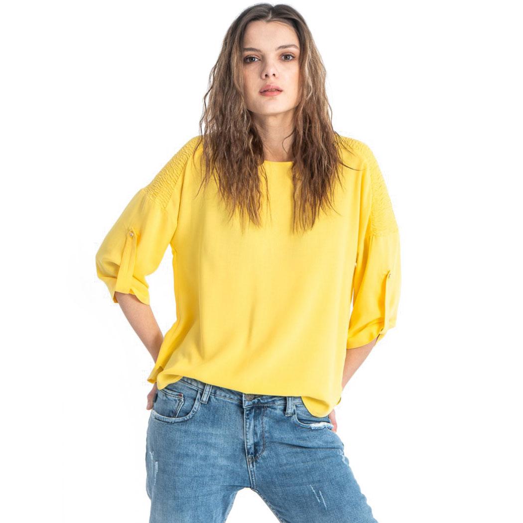 Bluză Hermosa Galbenă