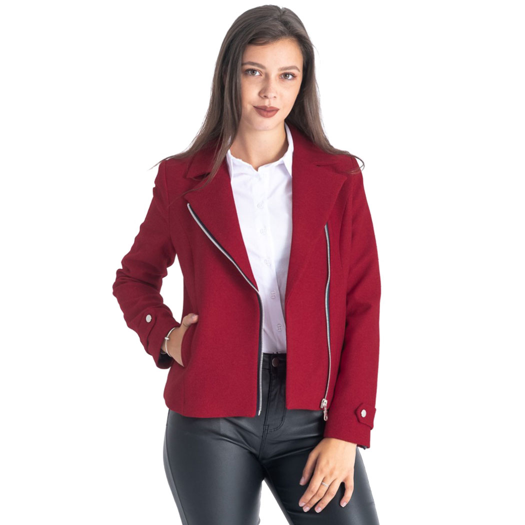 Jachetă Hermosa Roșie