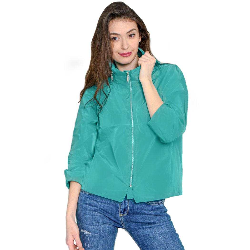 Jachetă Hermosa Turcoaz