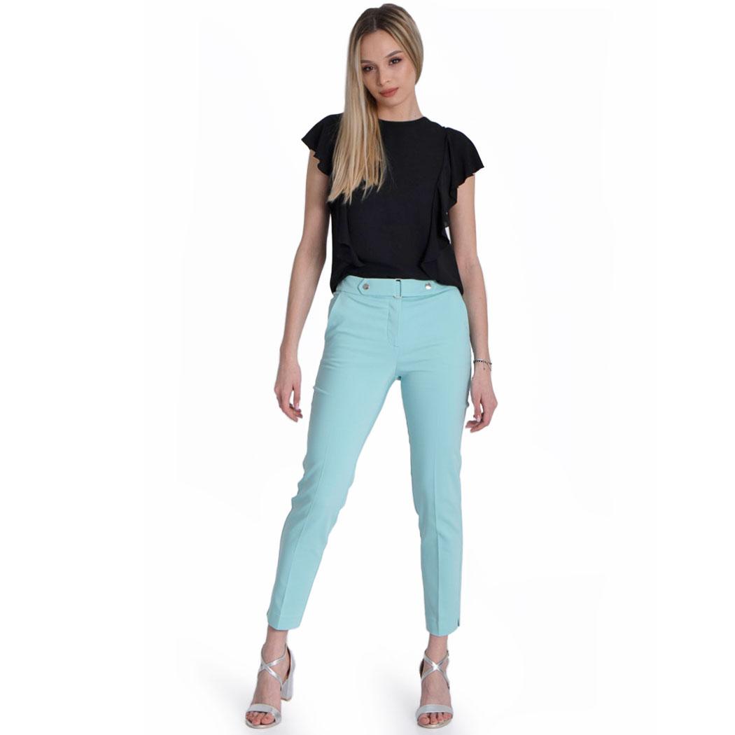 Pantaloni Hermosa Turcoaz