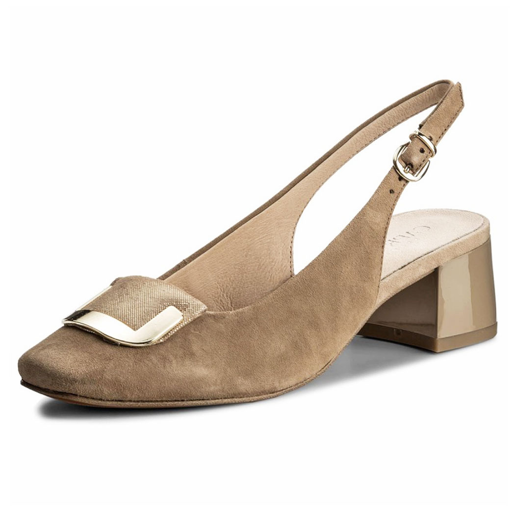 Pantofi Caprice Bej