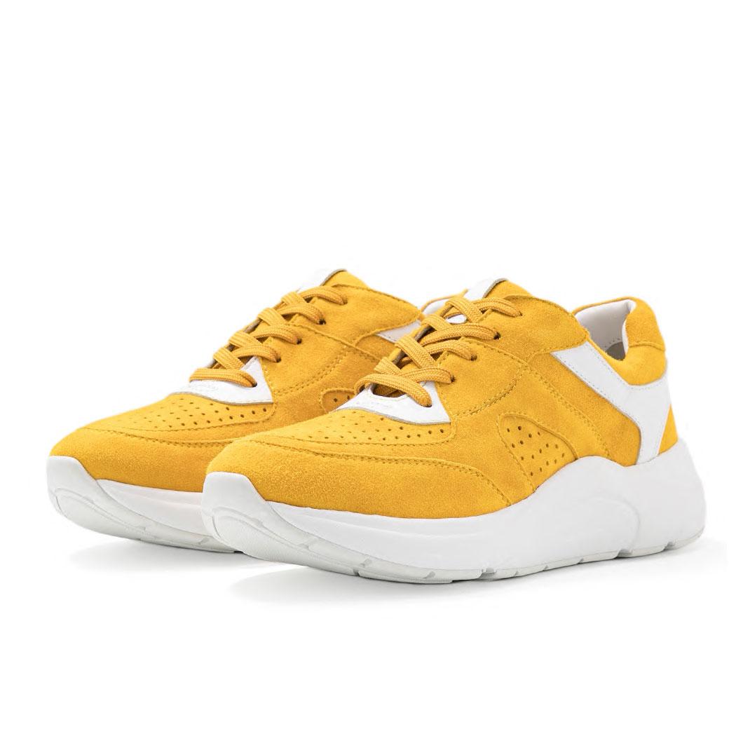 Pantofi Sport Caprice Galbeni
