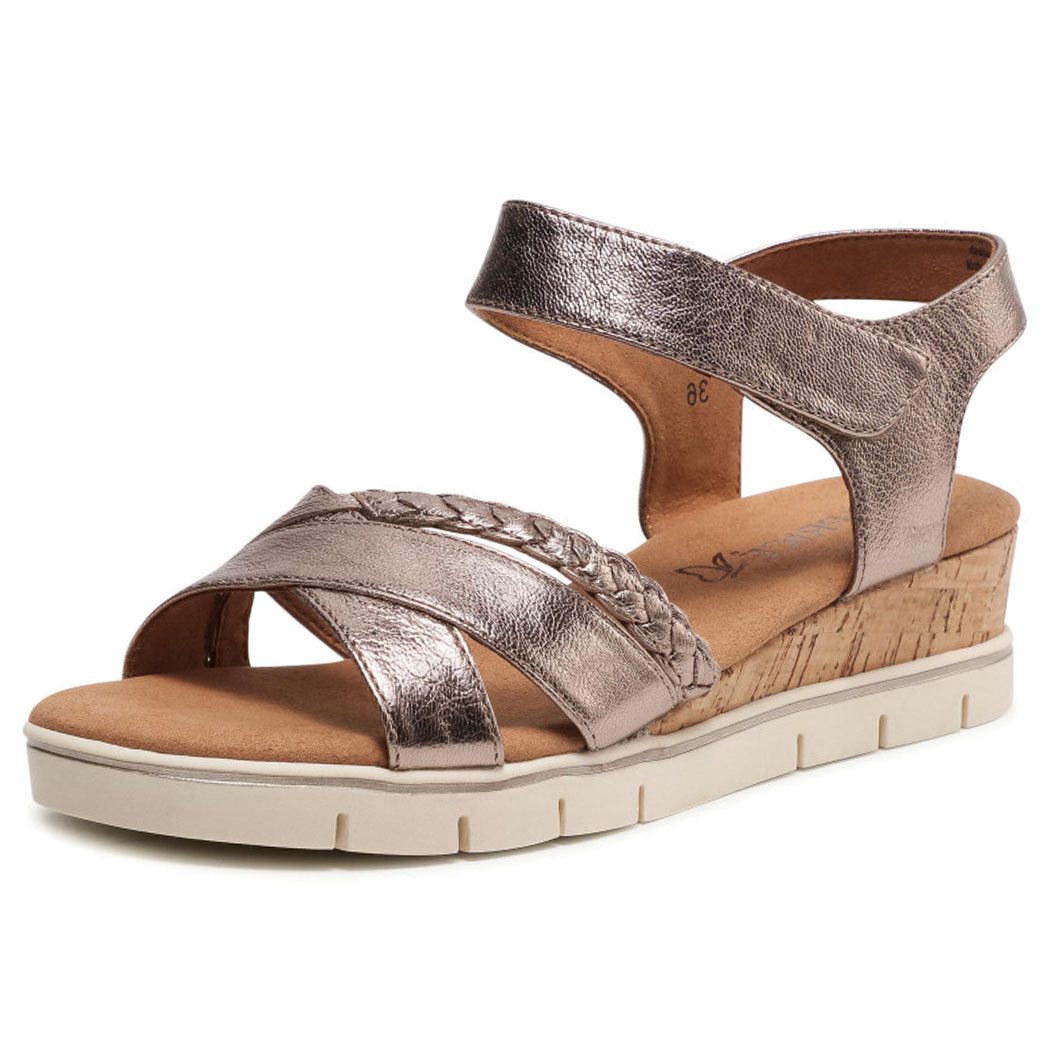 Sandale Caprice Roz Metalizat